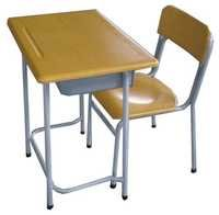 Student Table And Chair / School Chair with Writing Board