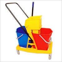 Mop Wringer Double Bucket