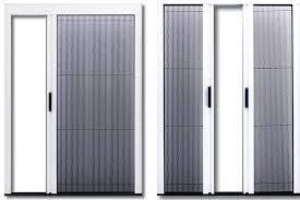 Pleated Screen Doors