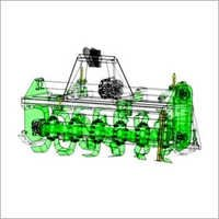 Industrial Rotory Tillers