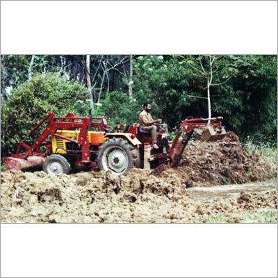 Tractor Back Hoe Loader