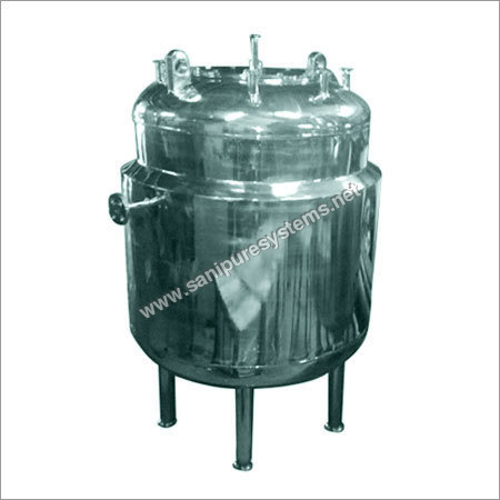Industrial SS Storage Tanks
