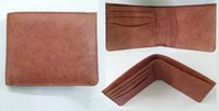 Men Brown PDM Leather Wallet