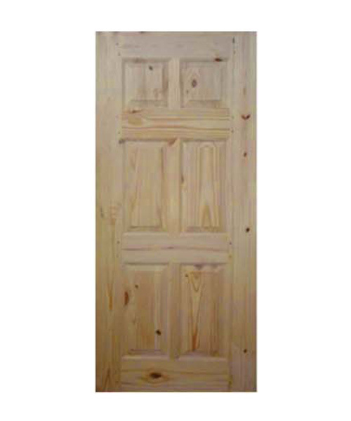 Pine Wood Front Door Manufacturersupplier And Exporterindia