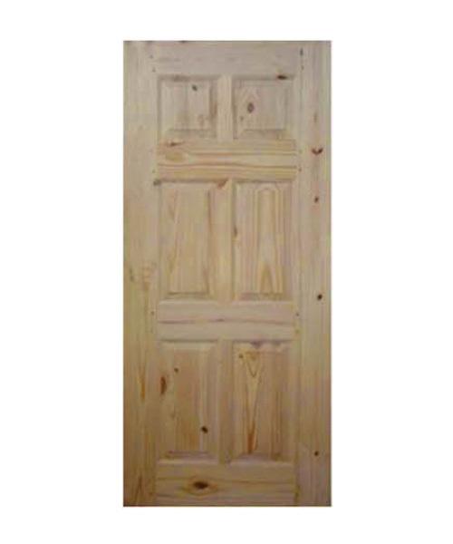 Pine Wood Front Door