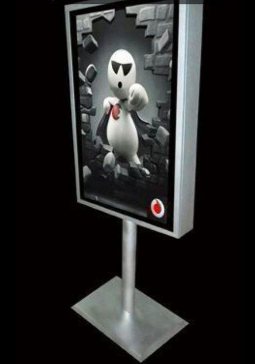 Advertising Scroll Light Box