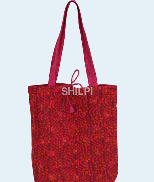 Quilted Cotton Bags