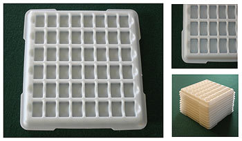 Plastic Vacuum Formed Tray