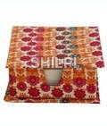 Floral Printed Slip Box with 150 handmade paper note slips