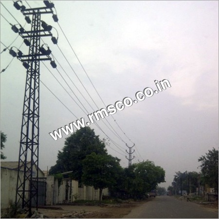 LATTICE TOWER FOR 33 KV