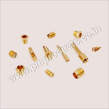 Brass Screws & Caps