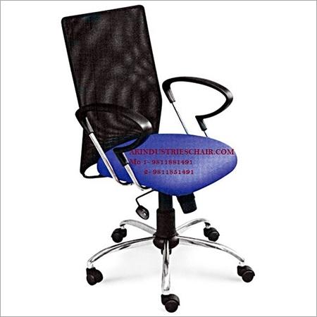 Revolving Mesh Chairs