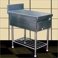 Steel Salad Counter