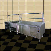Stainless Steel Salad Counter