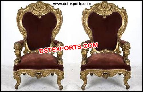 Wedding Bridal Royal Chairs Set