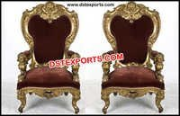 Wedding Bridal Royal Chairs Set