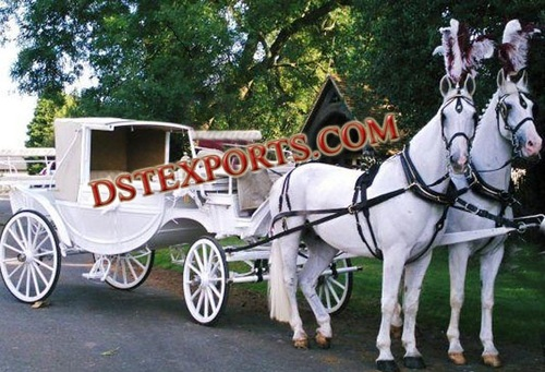 WEDDING CINDERELLA COVERED CARRIAGE