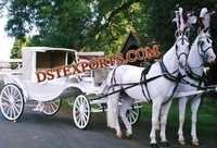 WEDDING CINDERELLA COVERED CARRIAGE