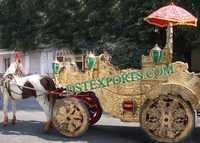 GRAND INDIAN HORSE DRAWN BAGHI