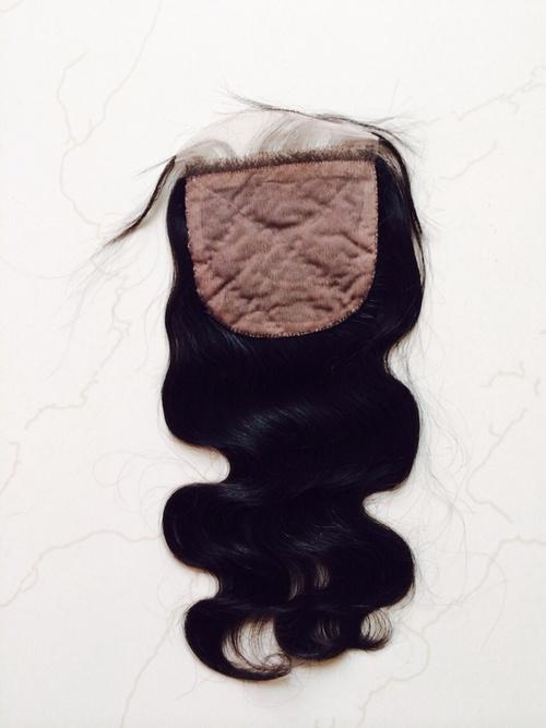 Human Hair Silk Closure