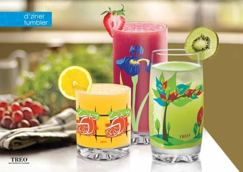 Designer Water Glass