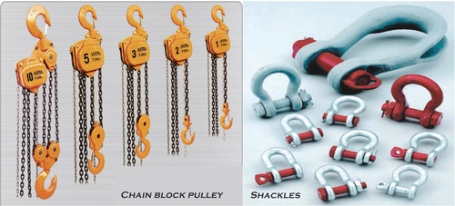 Shackles And chain pulley block