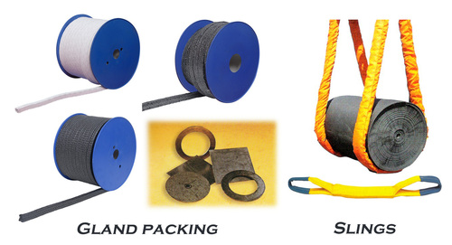 Gland packing and Slings