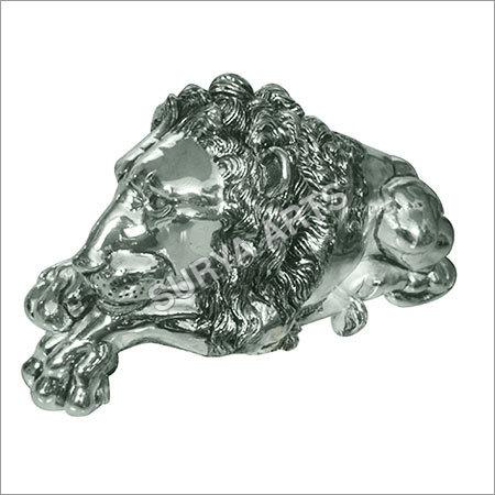 Antique SIlver Lion