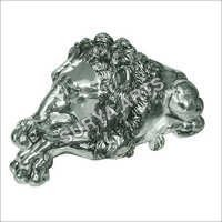 Antique SIlver Lion