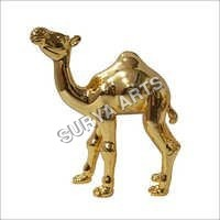24K Gold Plated Camel