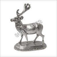 Antique Silver Deer