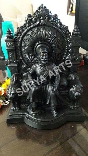 Shivaji Maharaj Black Finish