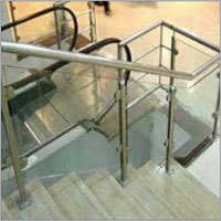 Stainless Steel Glass Handrail