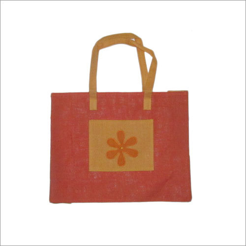 Shopping Bag with Patch Work