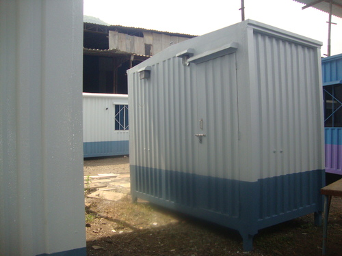 Security & Toilet Cabins