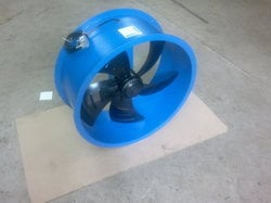 Blue Cooling Blower