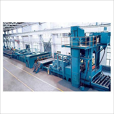 Industrial Shot Blasting Machines