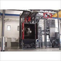 Double Shot Blasting Machine