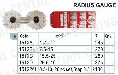 Radius Gauge / Radius gauge set