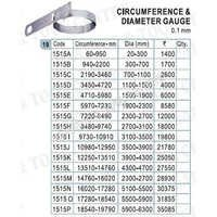 1515A To 1515G-PI Tape / Diameter Tape Circumference Gauge PI Tape