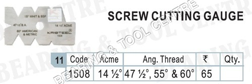 Screw Pitch Gauge