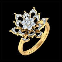 Designer Gold Diamond Ring