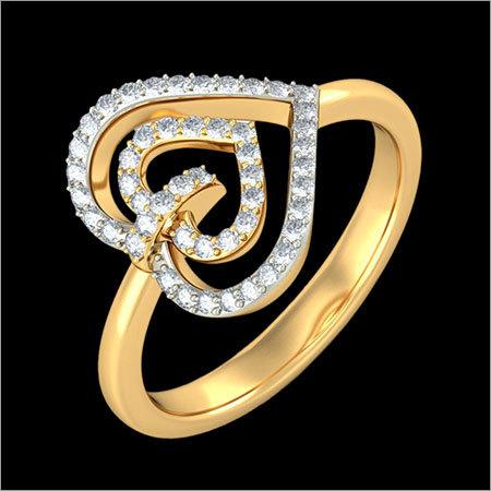 Gold Diamond Rings