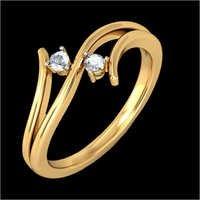 Ladies Gold Diamond Ring