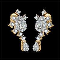 Diamond Gold Earings