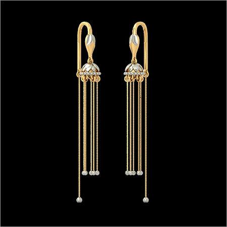 Women Designer Gold Earings