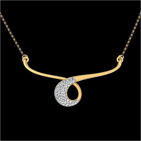 Ladies Gold Pendant