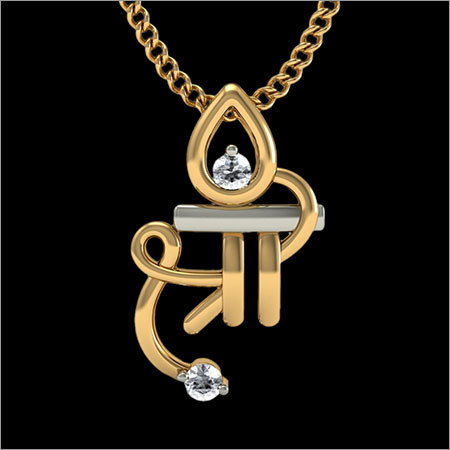 Shree Gold Diamond Pendant