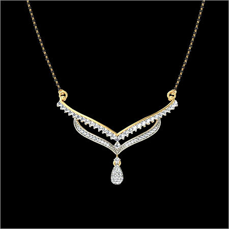 Ladies Designer Gold Pendant