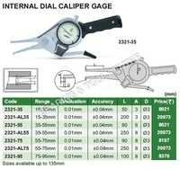 Internal Dial Caliper Gauge